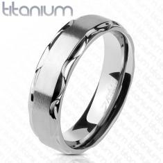 prezzo basso fascino dei costi store Anelli in titanio solo in qualità superiore   Gioielli Eshop IT